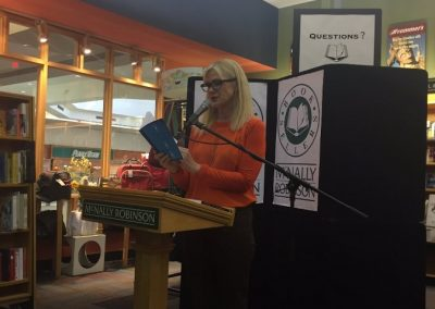 Book launch for Bent Not Broken at McNally Robinson Winnipeg