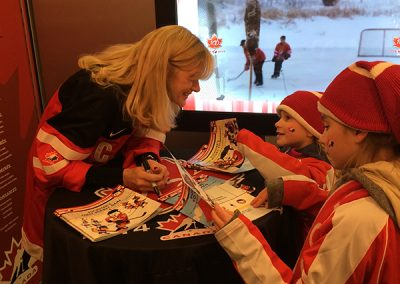 World Junior Book Signing, Toronto