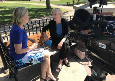Talking mental health with Edmonton CTV's Carmen Liebel