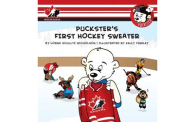 Puckster's First Hockey Sweater