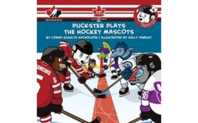 Puckster Plays the Hockey Mascots